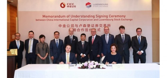 LuxSE teams up with  China International Capital Cooperation