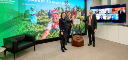 LuxSE marks 10 years of IFC Green Bond issuances