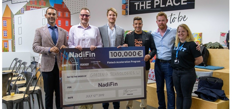 Gardenia Technologies selected as the winner of the inaugural NadiFin accelerator