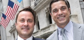 Xavier Bettel au New York Stock Exchange