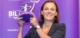 Stéphanie Jauquet nommée BIL Business Woman of the Year