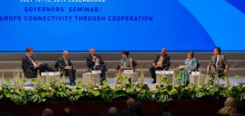 AIIB's President Jin Liqun and Pierre Gramena discuss sustainable investment