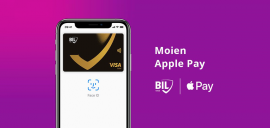 Apple Pay désormais accessible aux clients de la BIL