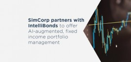 SimCorp partners with IntelliBonds to offer AI-augmented, fixed income portfolio management